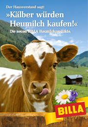 Cover Heumilch-Werbung