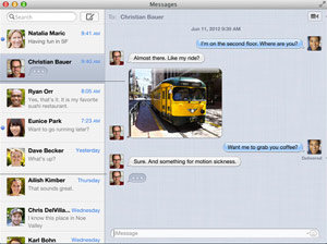 Facebook-Chat in Message