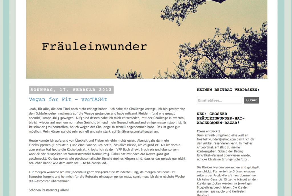 fraueleinwunder