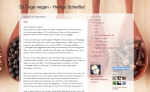 Bild 30 Tage vegan - Heilige Scheiße!