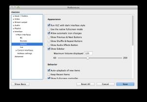 VLC Player: Recent History und Verlauf löschen OSX